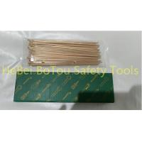 Buy cheap Non-Sparking Air Scaling Needle For Needle Scaler By Copper Beryllium 3*180mm from wholesalers