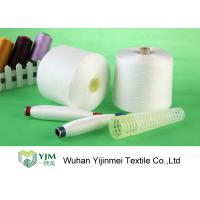Smooth Plastic Tube Polyester Core Spun Yarn Good Evenness Easily Sewing