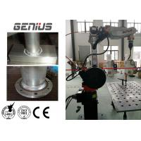 1400mm Aluminum Welding Robot Long Service Life For Engineering Machinery Manufactures