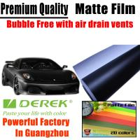 China Matte Car Wraps Vinyl Film - Matte Black Car Wrapping Film on sale