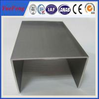 aluminium extruded channel with Kinds of surface colours and good price Manufactures