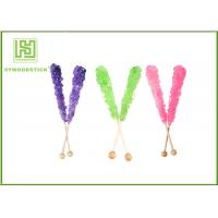 China Custom Decorative Cake Pop Sticks , Wood Round Sticks For Cotton Candy on sale