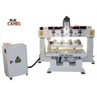 CA-1225 Best sale 4 axis rotary wood carving cnc router for sale Manufactures