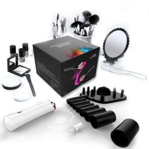 Electric Concealer Makeup Brush Set Cleaner / Dryer Kit VBT-19613 Long Lifespan