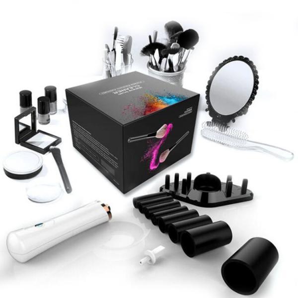 Quality Electric Concealer Makeup Brush Set Cleaner / Dryer Kit VBT-19613 Long Lifespan for sale