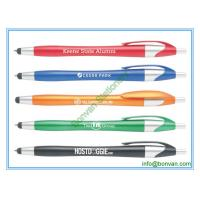 Quality fashion advertising pen with touch stylus for phone or ipad for sale