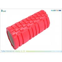 China Hollow Red High Density Eva Foam Roll For Yoga  33 * 14cm Size on sale