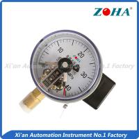 China 63mm High Pressure Gauge With Contact Switch Stainless Steel Movement on sale
