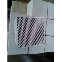Mullite Thin Fireplace Refractory Brick , Fire Resistant Bricks Stove Fire Rated Manufactures