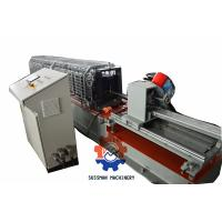 Aluminium/ PPGI Window curtain roll forming machine with servo following cutting Manufactures