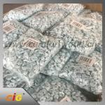 "China Craft Mini Satin Ribbon Bows Flowers Garments Accessories 1"" x 3 / 4""  DIY Appliques wholesale"