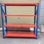 Custom Fitted Warehouse Storage Racks / Medium Duty Steel Pallet Rack Shelving Manufactures