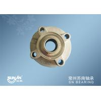 China Round Stainless Steel Pillow Block Bearing 35mm For Seeder / Cultivator SSUCFC207 on sale