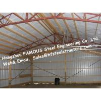 China Prefabricated Steel Building PSB With Steel Fabricator Certification For Structural Steel Barn Manufactures