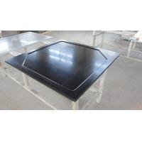 Resist Heat Epoxy Resin Laboratory Worktops , Black Glare Surfaces Manufactures