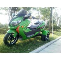 1000w Electric Moped Bike 3 Wheel Scooter Motorcycle With Brushless Motor Manufactures