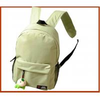 Quality while color promotional backpack-polyester school bag-low price children bag for sale