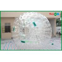 Giant Human Hamster Ball Round Clear Customized For Rental Manufactures