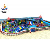 China Cute Indoor Soft Play Equipment , Sand Blasting Soft Play Centre Equipment on sale