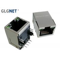 Buy cheap 10 / 100 Speed RJ45 Single Port , Green LED Shielded Rj45 Connector For Routers from wholesalers