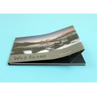 Custom Hardcover Photo Books with A4 Landscape Size ,  Professional Hardcover Book Manufactures