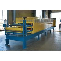 China Galvanized Steel Corrugated Roof Panel Roll Forming Machine With Adjustable Size on sale