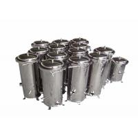 China Chemical Cartridge Liquid Filter Housings 10 Inch For Wound Filter / Meltblown Filter on sale