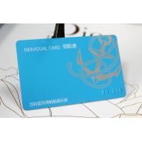 Quality Make decorative embossed serial number pvc cards for sale