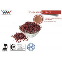 Liver Health Schizandra Berry Extract , High Purity Schisandra Fruit Extract Manufactures