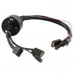 Multi-Signals Hybrid Transmission Hollow Slip Ring Compact Design For Rewinder Manufactures