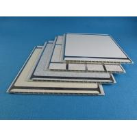 China 250Mm * 8mm * 5.9m DIY plastic wall cladding , Color pvc ceiling boards for Bathroom on sale
