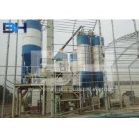 China Automatic Dry Mortar Production Line 80 - 100 T/H With Twin Shaft Paddle Mixer on sale