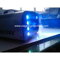 Professional 8*3w RGB colorful Led 1500w Stage Fog Machine  X-024 Manufactures