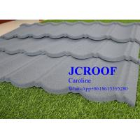 ISO9001 Certificate Stone Coated Roofing Tiles Milano Type for Country House Manufactures