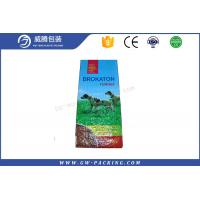 China Food Grade 25kg Woven Polypropylene Feed Bags Waterproof For Sugar Bean Packing on sale