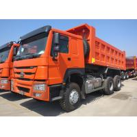 15 Cubic Meter Heavy Dump Truck 40 Ton Payload Capacity Three Axles Manufactures