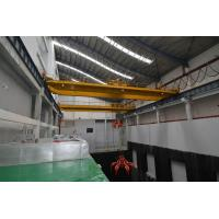 China High Speed Industrail Hydraulic Double Beam Grab Crane , Grab Bucket Four Link Portal on sale