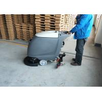 18 inch Brush Commercial Floor Scrubber Machine With Adjustable handle Manufactures