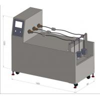 JIS C3005 FIG.5-(a) Straight Twist Test Apparatus / Three Stations Linear Torsion Machine Manufactures