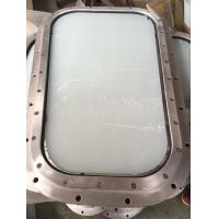 China Marine Fixed Wheelhouse Windows With Aluminum Marine Windows Frame on sale