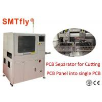 Inline Router Laser PCB Depaneling Machine , Board Handling Machine Fully Automated Manufactures