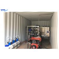 China Reverse Osmosis Mobile Water Treatment Equipment , Water Purify Treatment Plant  ISO Approval on sale