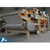 Sludge Water Treatment Belt Filter Press With Continuous Discharging 830kg Weight Manufactures