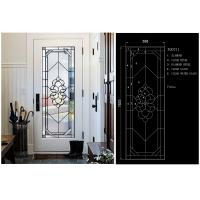Buy cheap Clear / Bronze Exquisitely Custom Beveled Glass Panels Stunningly Flat Round from wholesalers