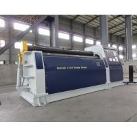 Sheet 4 Roll Plate Rolling Machine , 4 Roller Bending Machine Manufactures