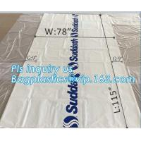 pe bag pallet cover plastic bag sqaure bottom bag, 54 x 44 x 96 1 Mil ldpe Clear Pallet Covers, top covers clear plasti Manufactures