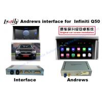 2015 Or 2016 Infiniti Q50 Android Car Interface 9-12v Working Voltage Manufactures