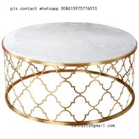 stainless steel dining table base leg hairline gold coffee table base for hospitality projects Manufactures