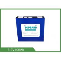 China 3.2V 100Ah Rechargeable Lifepo4 Battery TB_32173195E_100Ah_LFP For Telecoms Industry on sale