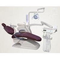 China Down mounted type Dental unit with double armrest on sale